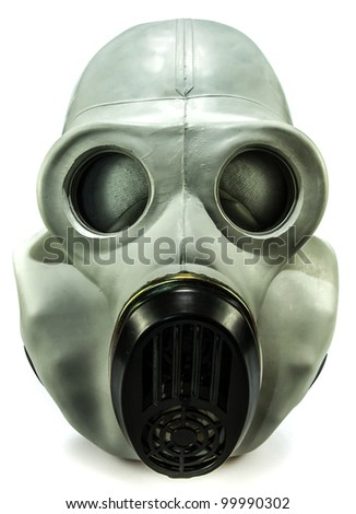 Old Soviet Union gas mask