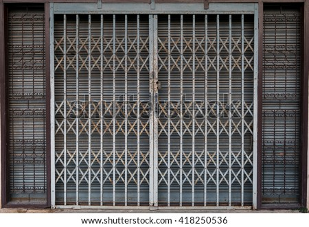 Sliding Gate Stock Images Royalty Free Images Amp Vectors