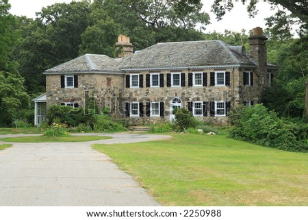 Old Stone Country English  Mansion