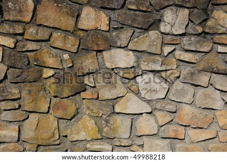 old stone tile texture wall
