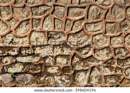 Old stone  weathered surface, texture backdrop