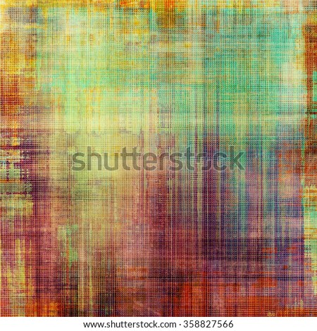 Old style detailed texture - retro background with space for text or image. With different color patterns: yellow (beige); brown; red (orange); green; purple (violet) - stock photo