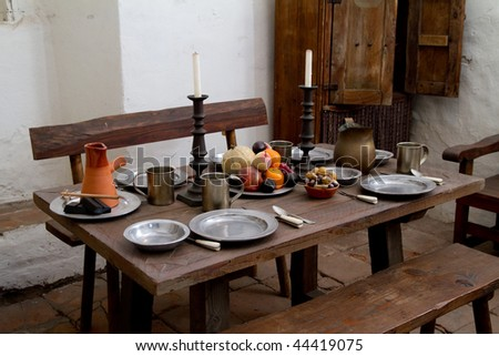 Old style dining set