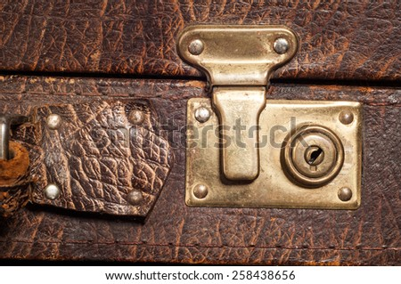 old suitcase. texture.  suitcase, bag, trunk, case, handbag, valise - stock photo