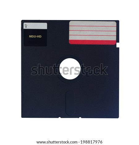old technology about data memory - stock photo