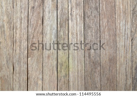 old texture background, grunge wood panels used as background - stock photo