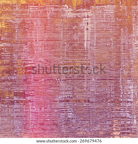 Old texture or antique background. With different color patterns: purple (violet); yellow (beige); pink - stock photo