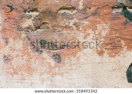 Old textured  wall