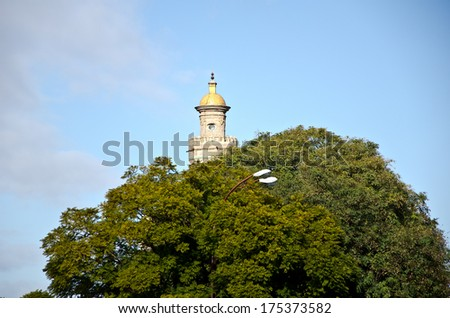 Old Tower, Seville. - stock photo
