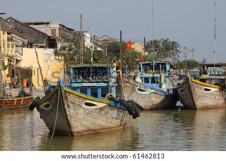 Old town hoi an, Vietnam - stock photo