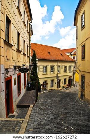 Old Town in Bratislava - stock photo