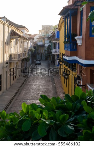 Old town of Cartagena, Colombia