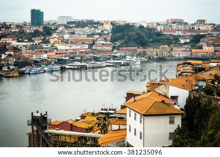 old town of Porto and river, Portugal