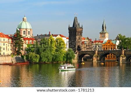Old town of Prague, Czech Republic - stock photo