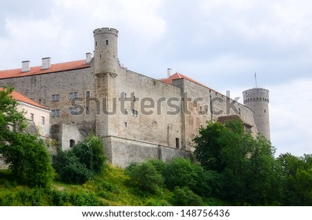 Old Town of Tallinn, Estonia - stock photo