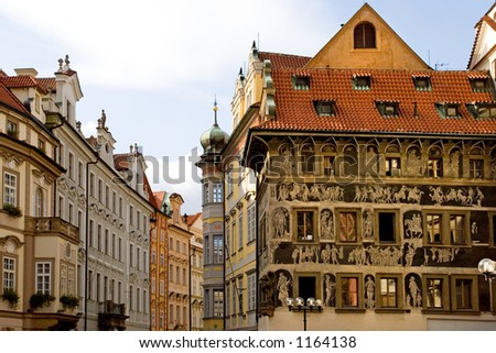 Old Town Square, Prague, Czech Pebublic