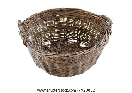 Old traditional basket
