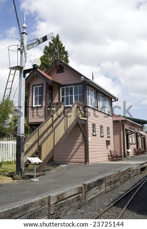 Old Train Station and Signal Control Tower