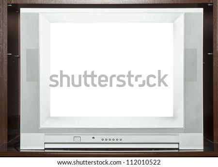 Old TV - stock photo