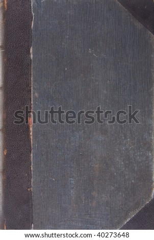 Old vintage book texture - stock photo