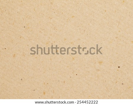 Old vintage brown paper texture or background - stock photo