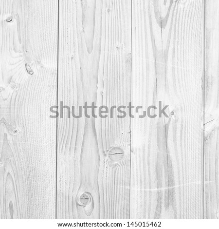 Old vintage or grungy white and gray wood background - stock photo