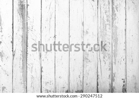 Old vintage panel wood background from solid wood ruin table infrared pale bleached - stock photo