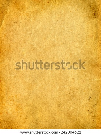 Old vintage Paper page texture - stock photo