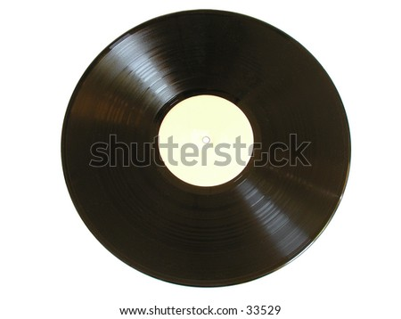 Old vinyl record (LP)