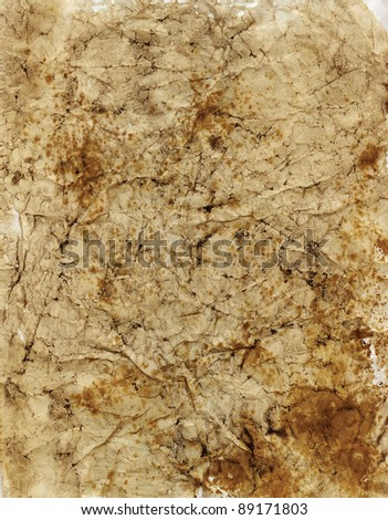 Old wall as a textured background - stock photo