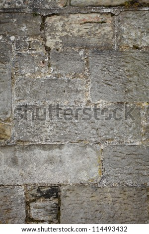 Old wall made of rocks and stones, texture background
