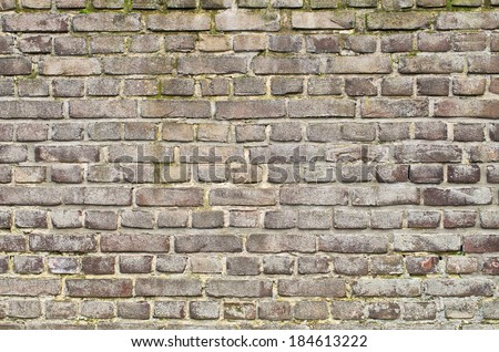 Old wall surface for usage as a background - stock photo