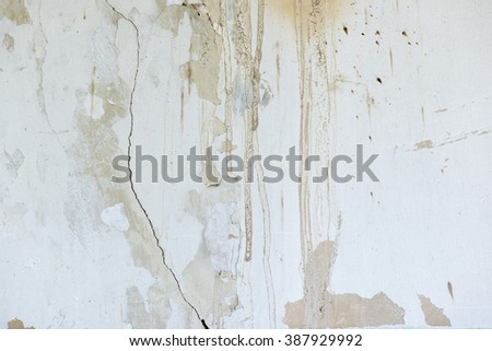 old wall, texture, gray, white, dirty, grunge - stock photo