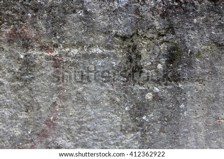 Old Wall Texture./ Old Wall Texture. plastered grey and white old wall background. Textured wall. Background texture. Gray grunge background. cement textures. Weathered old dirty concrete background. - stock photo