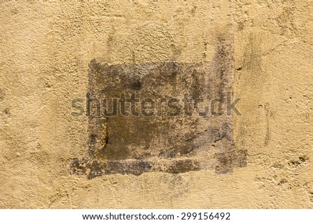 old wall - typical provence style background - stock photo