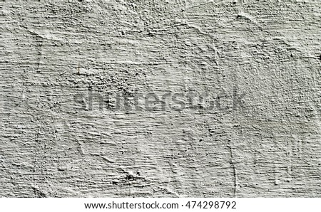 old wall whitewashed plaster in the cracks