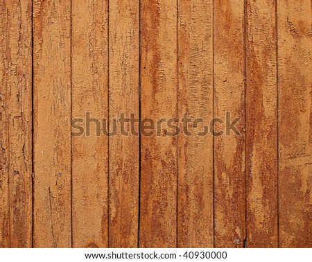 Old wall, wooden planks - texture - stock photo