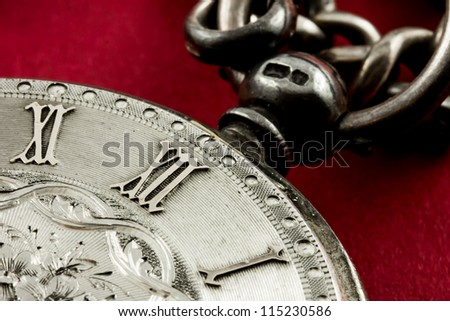 Old watch, time concept - stock photo