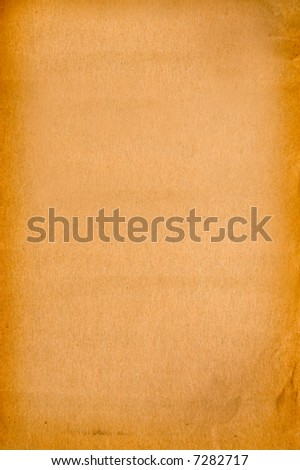 Old Weathered Paper Background - stock photo