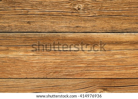 old weathered wood board background texture - stock photo