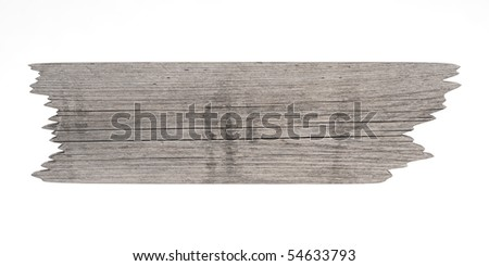 Old weathered wood plank - stock photo