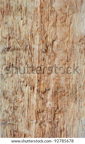 Old weathered wooden plank. Wooden background - stock photo