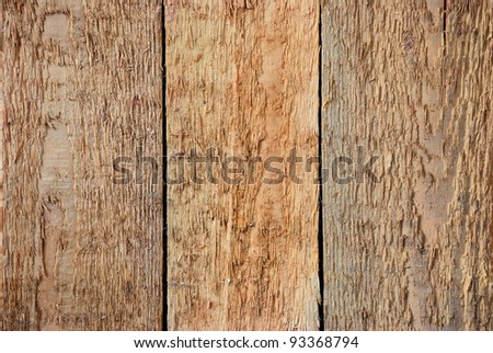 Old weathered wooden planks. Wood background - stock photo