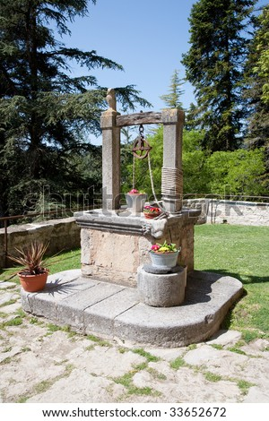 Old well in Catalonia