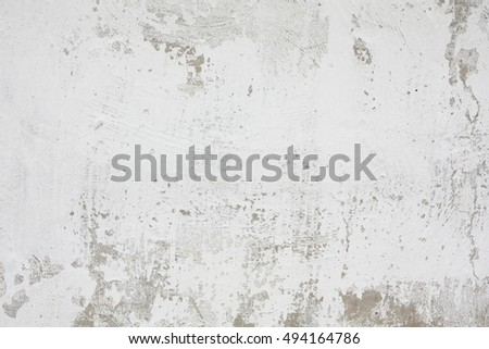 Old white wall texture painted with white color.