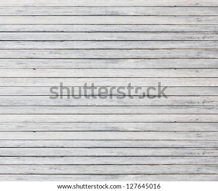 old white wood wall texture - stock photo