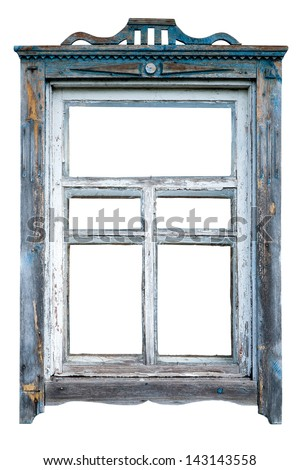 Old Window Frame Stock Photo (Safe to Use) 143143558 - Shutterstock