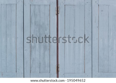 old windows - stock photo