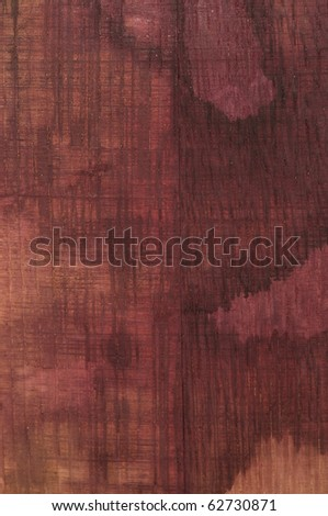 Old Wine Stained Barrel Oak Texture - stock photo