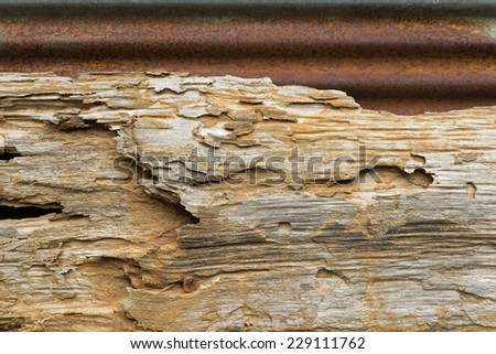 old wood background, abstract background - stock photo